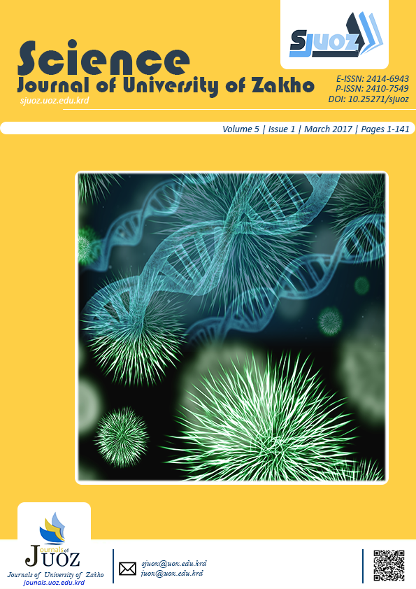 Science Journal of University of Zakho